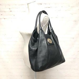 Kate Spade Black Lock Turn Shoulder Bag
